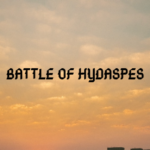 Who was the winner of the battle of hydaspes?