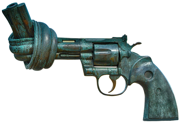 revolver-with-a-twisted-closed-mouth-ahimsa-nonviolence